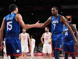 Team USA maakt favorietenrol waar in topper tegen sterke Spanjaarden en staat in halve finales, ook Doncic stoot door