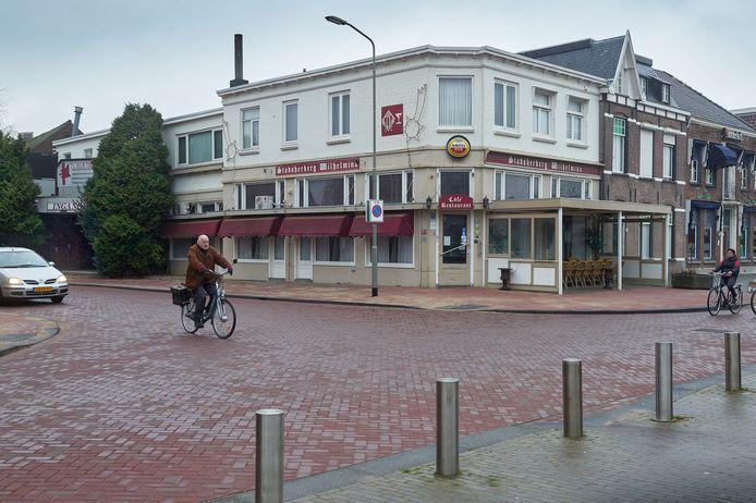 De huidige staat van het gebouw.