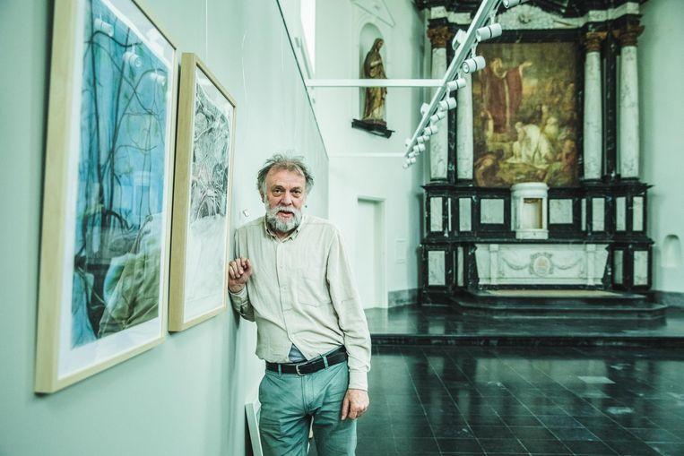 Etienne Kerkhof stelt als eerste tentoon in de gerenoveerde kapel.