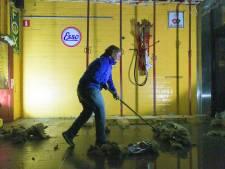 Café De Pomp heeft wateroverlast