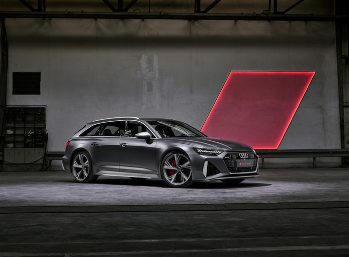De nieuwe Audi RS6 Avant