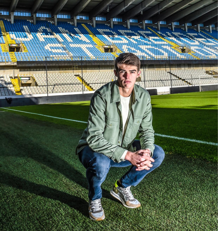 'Kenners gaan ervan uit dat ik in de nationale ploeg hoor en de toekomst van het Belgische voetbal ben. Leuk, maar ik lig er niet wakker van' Beeld