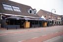 Cafés aan de Blasiusstraat in Deurne.