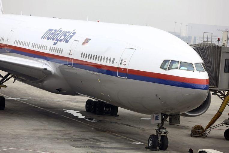 Een Boeing 777 van Malaysia Airlines. Beeld EPA