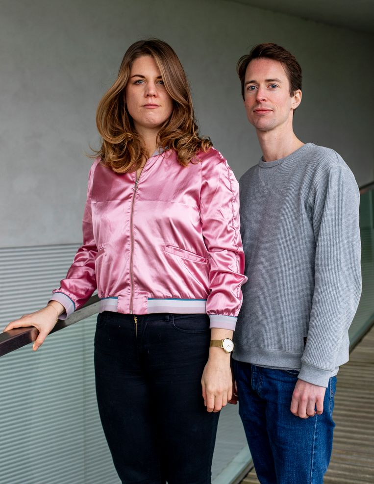 Met Art-up willen Jon Heemsbergen en Anne Houwing organisaties in de cultuur kans geven op groei. Beeld Lin Woldendorp