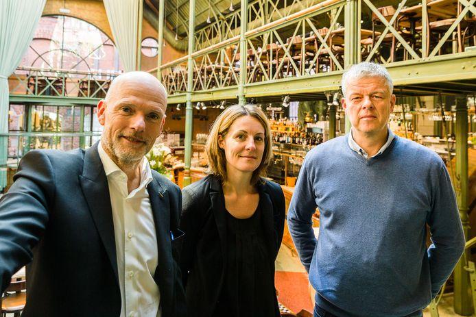 Dimitri De Cuyper (links) en Koen Lefever (rechts). De eigenaars van Brasserie Pakhuis.