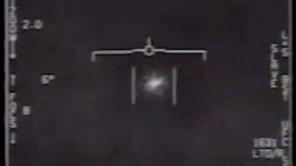 Amerikaans leger geeft geheime beelden vrij van UFO die door gevechtspiloten werd gespot
