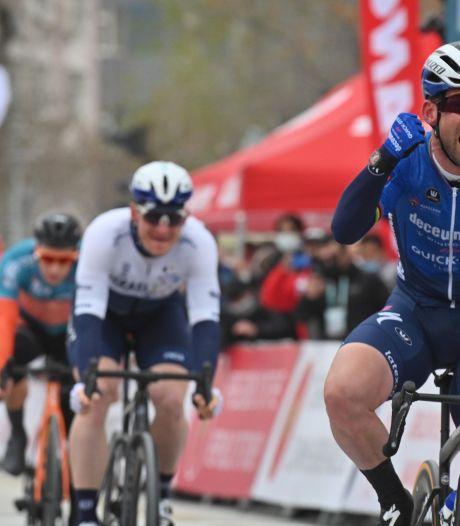 Mark Cavendish enchaîne une deuxième victoire d'étape consécutive sur le Tour de Turquie