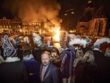 Met het bok verbranden komt er een einde aan tumultueus jaar voor Oldenzaals carnaval