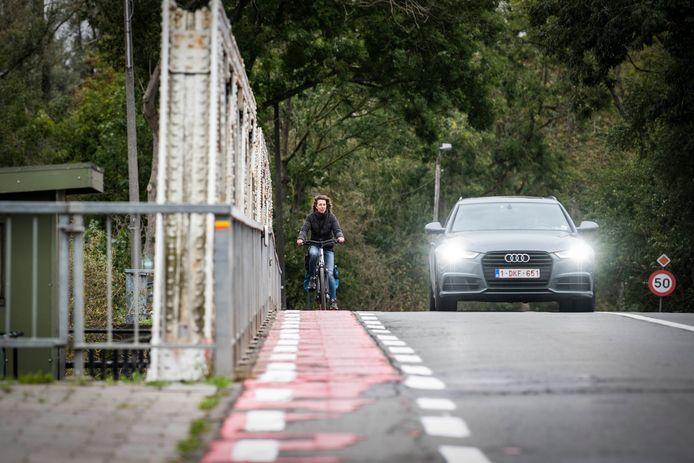 De werken zullen plaatsvinden tussen de verkeerslichten en de Durmebrug.