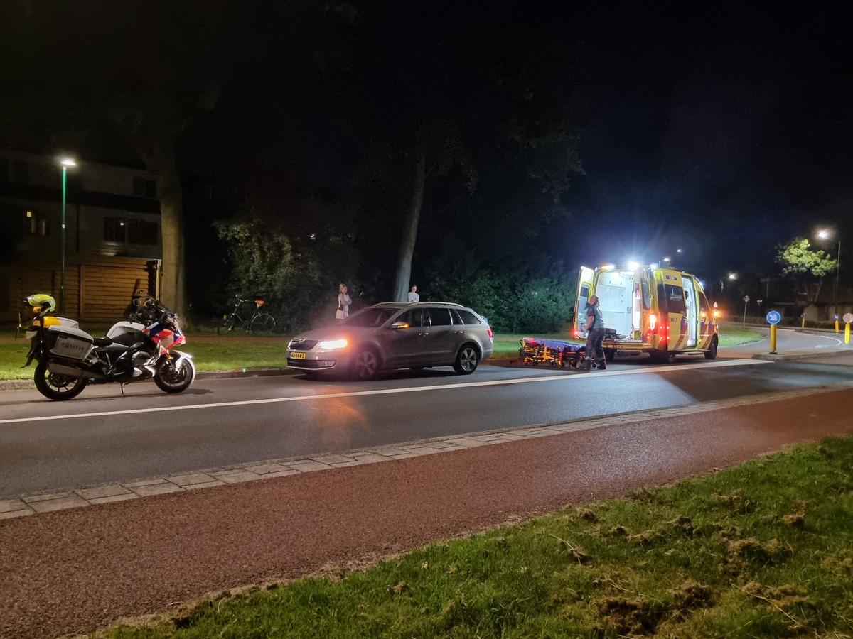 Scooterrijder zwaargewond bij ongeluk in Veenendaal