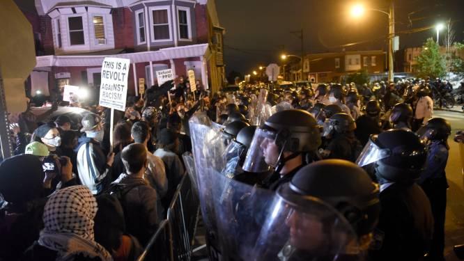 Uitgaansverbod in Philadelphia na twee nachten van plunderingen en geweld na doodschieten zwarte verdachte (27)