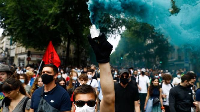 Ruim 37.000 betogers tegen extreemrechts in Frankrijk, van wie 9.000 in Parijs
