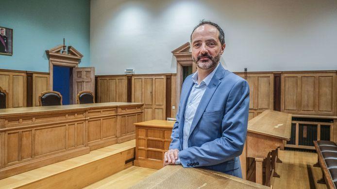 Vincent Remy. de nieuwe afdelingsprocureur van het parket in Kortrijk.