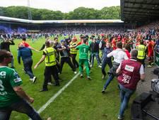 Politie voorkomt confrontatie fans De Graafschap en GA Eagles