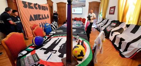 Politie pakt leiders harde kern Juventus op