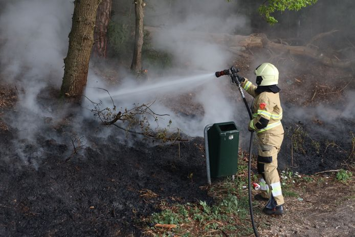 Buitenbrand in Boxtel.