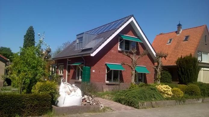 De arbeiderswoning aan de Oude Telgterweg in Ermelo is genomineerd voor de titel 'Duurzaamste Huis van Nederland'