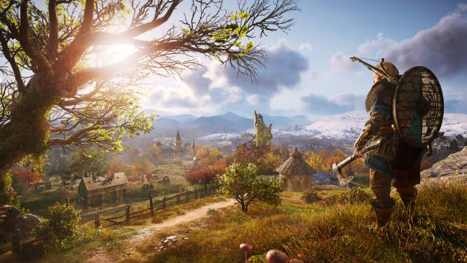 GAMEREVIEW. 'Assassin's Creed: Valhalla' hakt er – vooral letterlijk - in