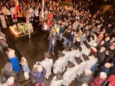 Grote belangstelling bij herdenking van stadhuisramp in Heusden
