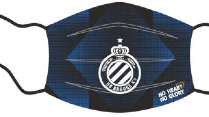 Club Brugge verkoopt mondmaskers met eigen logo, opbrengst gaat naar goed doel