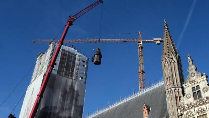 """Torenspits staat weer op Belfort: """"Een goede voorbereiding is alles bij een operatie als deze"""""""