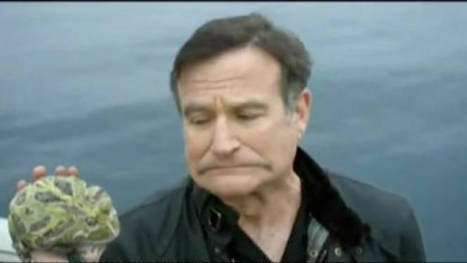 """Robin Williams: """"Ik heb hartklep van koe gekregen"""""""