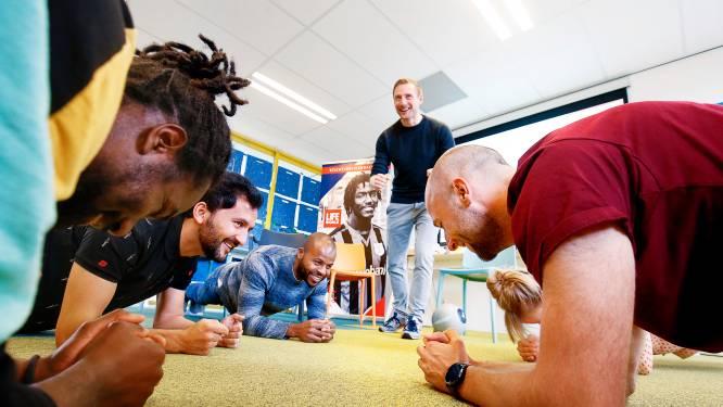 Samen sporten om eenzaamheid onder jonge vluchtelingen te lijf te gaan: 'Zo werk ik aan mezelf'