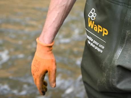 """Succès de foule pour le """"Grand nettoyage"""" en Wallonie"""