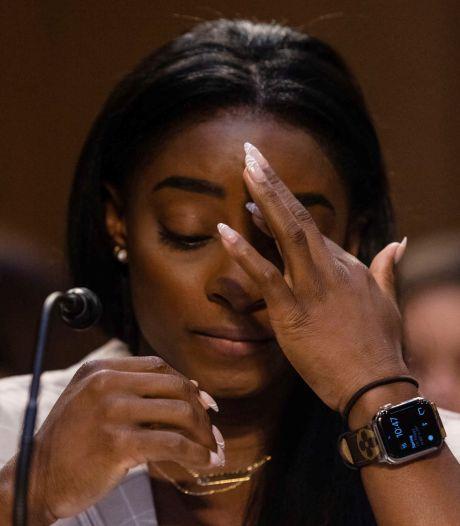 """""""On nous a laissé tomber"""": les larmes de Simone Biles devant le Sénat américain"""