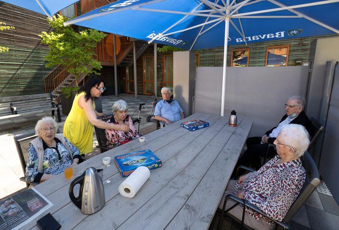 Ons Plekske in Liessel is een dagbesteding voor ouderen die helemaal op vrijwilligers draait.