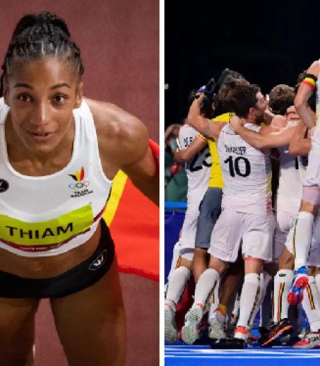 Deux médailles d'or, un doublé inédit: le résumé d'une journée légendaire pour le sport belge