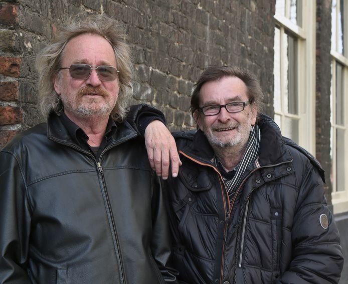 Jan (links) en Gert Kuipers kijken terug.