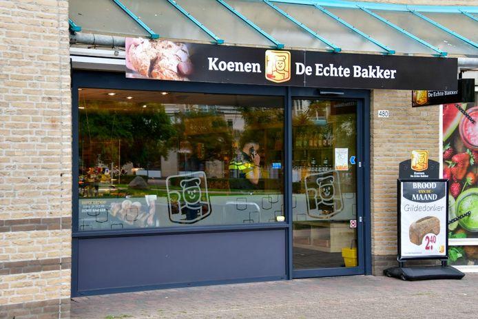 Bakkerij Koenen in Duiven is overvallen.