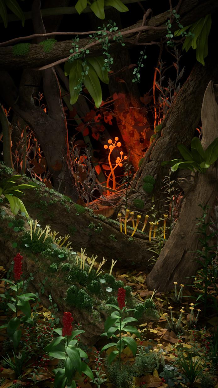 Eelco Brand, HB.movi (a tribute to Bosch), Digitale 3D animatie. Collectie Het Noordbrabants Museym