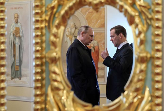 Le duo Poutine-Medvedev à la tête de la Russie, c'est terminé.