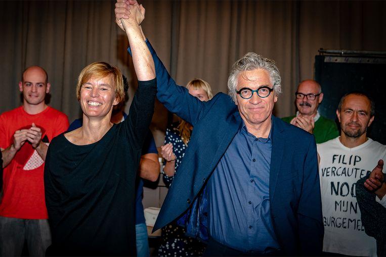 Jos Stassen en Tina Van Havere krijgen een daverend applaus na een oproep tot positivisme en geloof in de toekomst.