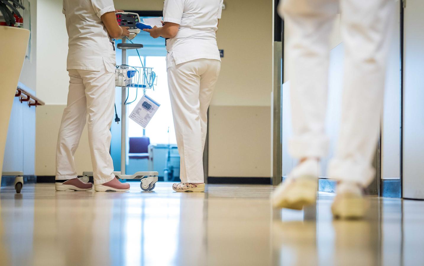 Verpleegkundigen in het ziekenhuis.