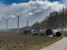 Vierde windmolen aan Groenedijk tussen Zevenbergen en Etten-Leur