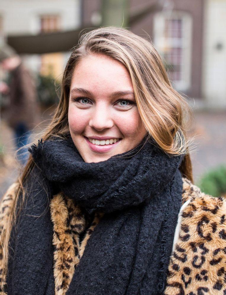 Lara Davis (20) Beeld Eva Plevier