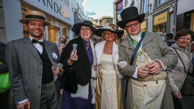 Jeneverfeesten lokken 160.000 bezoekers naar Hasselt