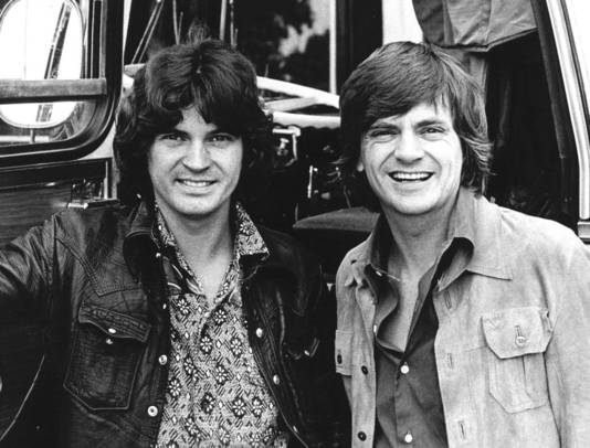 De Everly Brothers in 1971