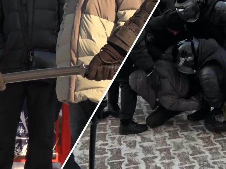 Aanhangers Navalny opgepakt bij protesten in Rusland