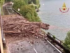 Noodweer teistert nu ook Noord-Italië: straten veranderen in kolkende modderstromen