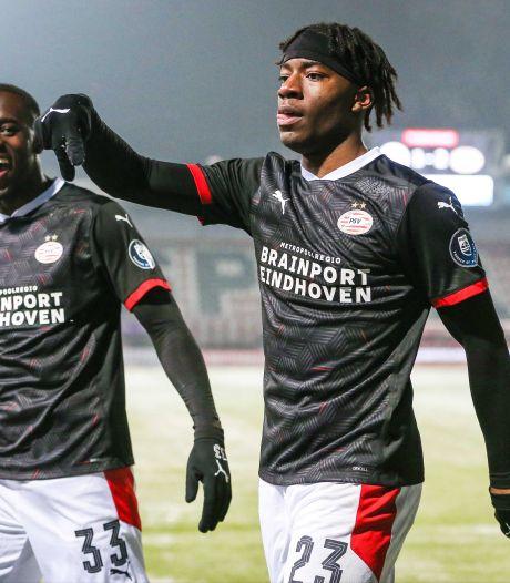 Madueke vrijwel zeker terug in wedstrijdselectie PSV