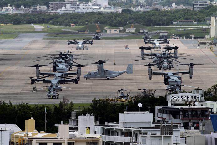 De Amerikaanse aanwezigheid is veel bewoners van Okinawa een doorn in het oog.