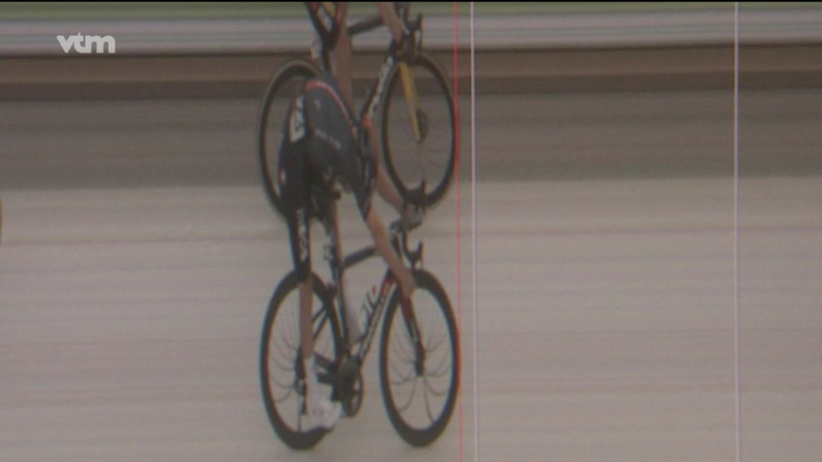 Van Aert versus Pidcock in de Amstel Gold Race.