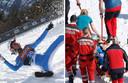 Tande a été victime d'une lourde chute sur le tremplin de vol à ski de Planica, en Slovénie