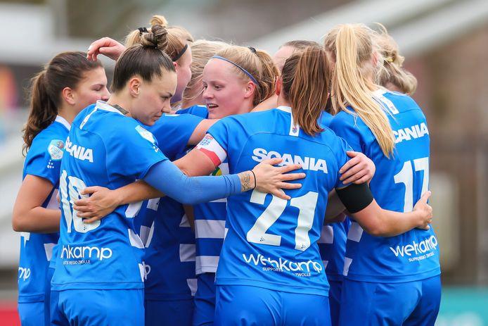 PEC Zwolle Vrouwen wil succes boeken met speelsters uit de eigen opleiding.