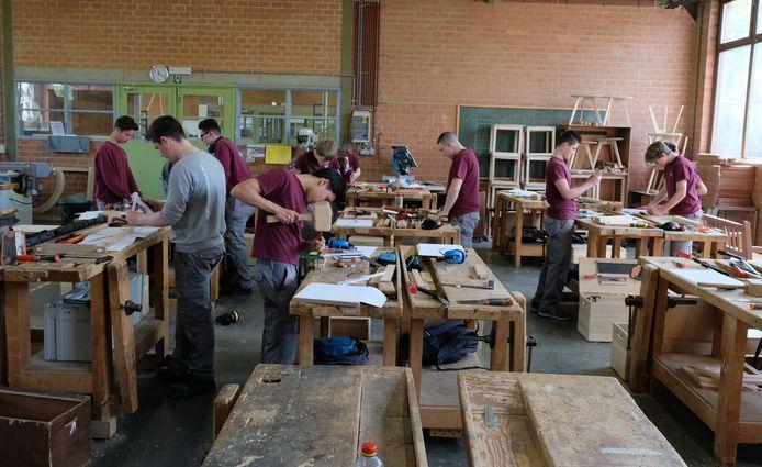 houtproject st lambertusschool 2